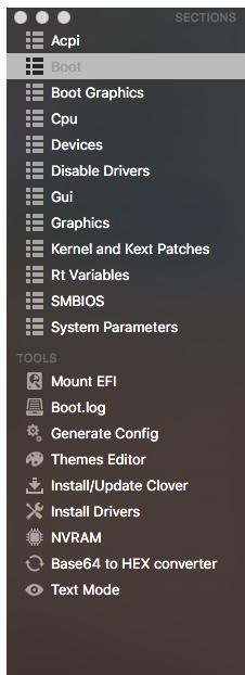 黑苹果跳过四叶草选择的界面直接进Mac系统
