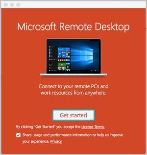 Mac系统远程连接Windows桌面