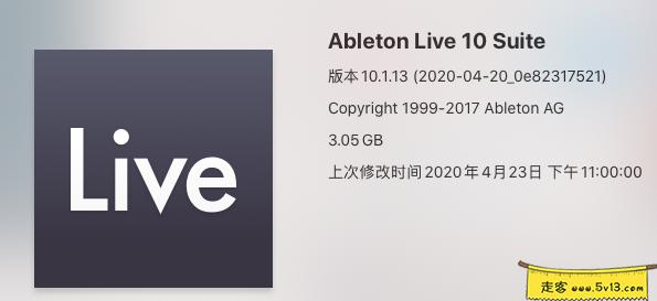Ableton Live Suite 10.1.13 Mac破解版