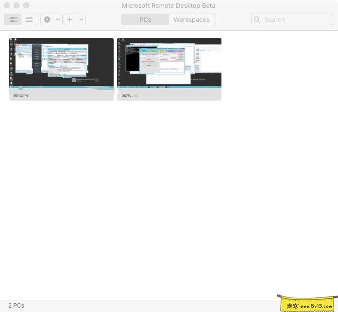 Microsoft Remote Desktop 10.4.0 Beta Mac版本