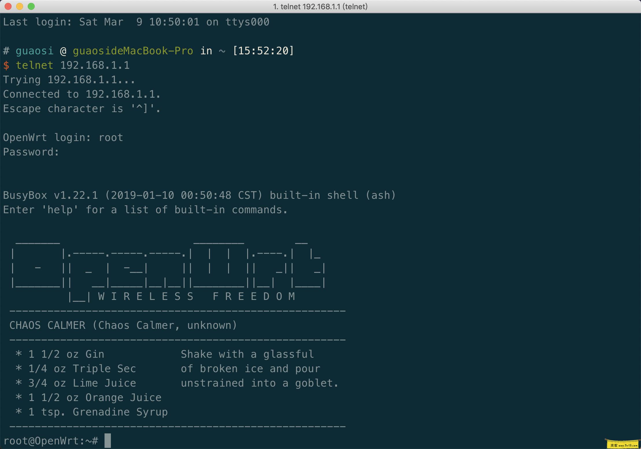 telnet-login-success